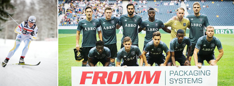 Fromm Sverige AB sponsrar svensk fotboll