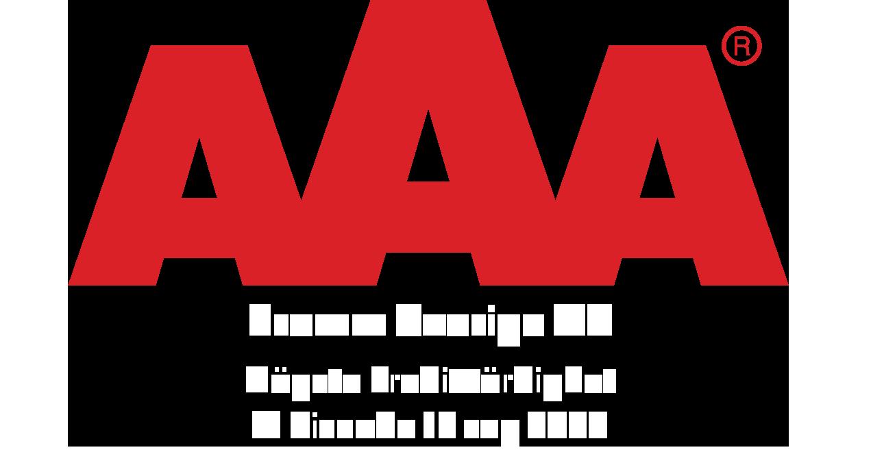 Fromm Sverige har högsta kreditvärdigheten AAA